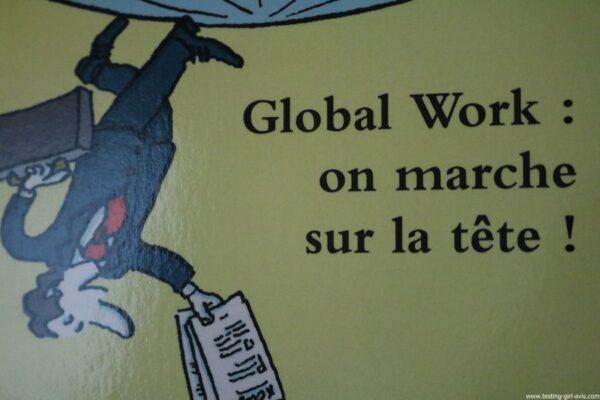 Global Work : on marche sur la tête ! Broché – 28 octobre 2016 de Angeline Vagabulle - Le livre