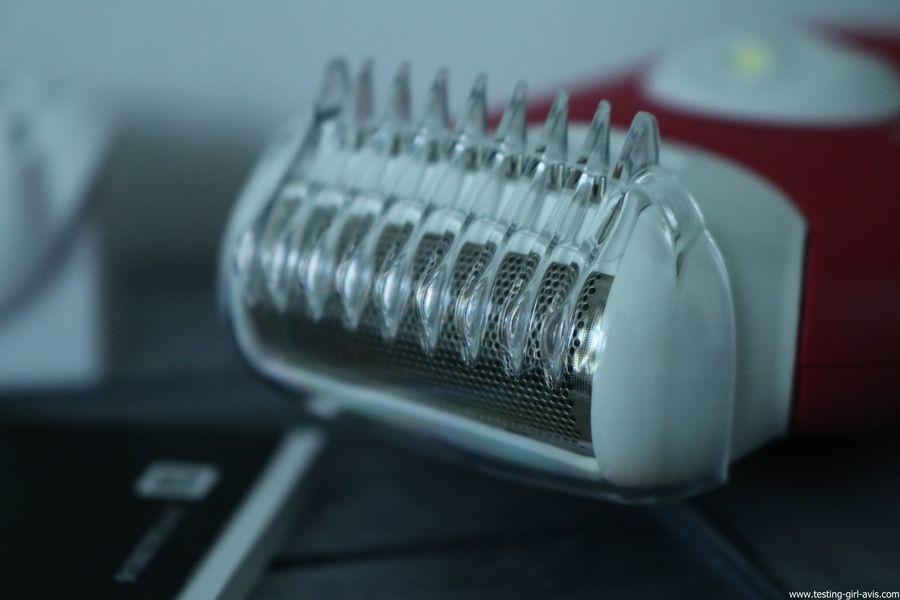 Braun - Silk-Epil 3 3-410 - Epilateur Electrique - 3 Accessoires - Rose Framboise - tondeuse