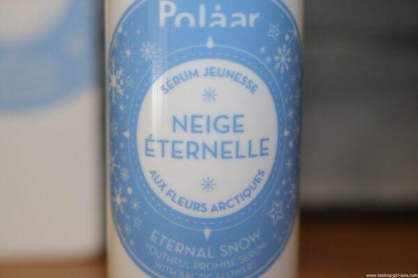Polaar - Sérum Jeunesse Neige Eternelle aux Fleurs Arctiques - Avis