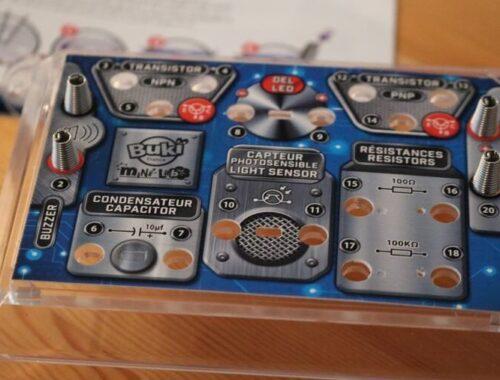Buki - Jeu Scientifique Mini Lab Electronique - Construis ton alarme - Composants electronique