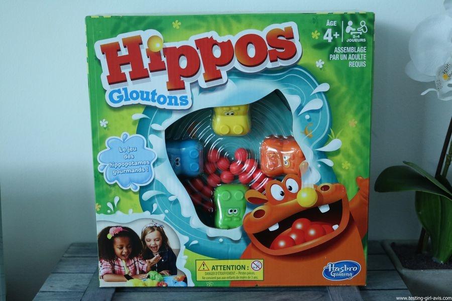 Hasbro Gaming Jeu Hippos Gloutons - description