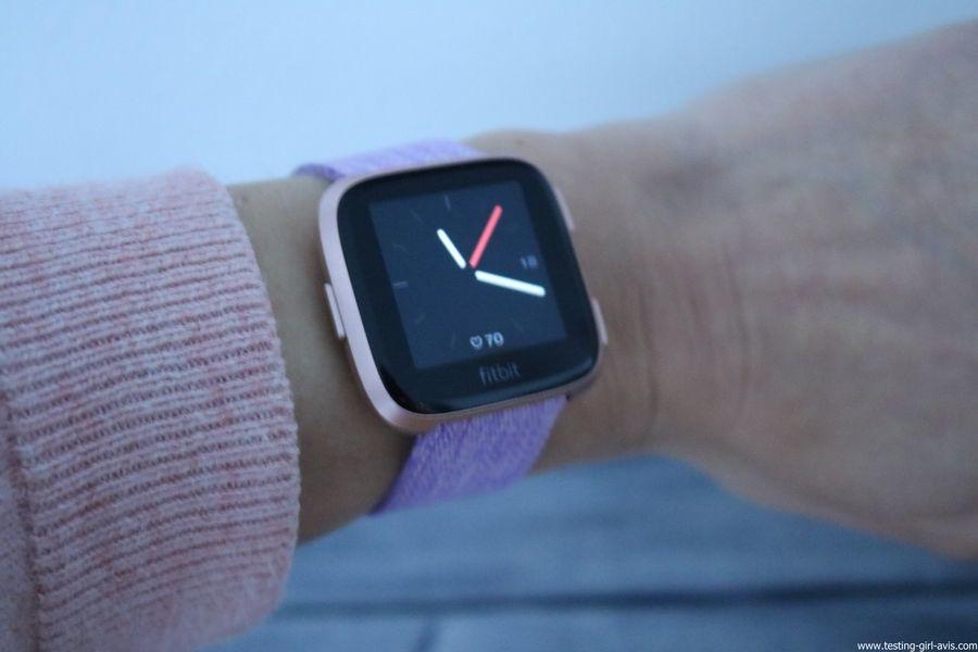 Montre cardio femme - Montre Connectée - Smartwhatch - Fitbit - Versa - Avis