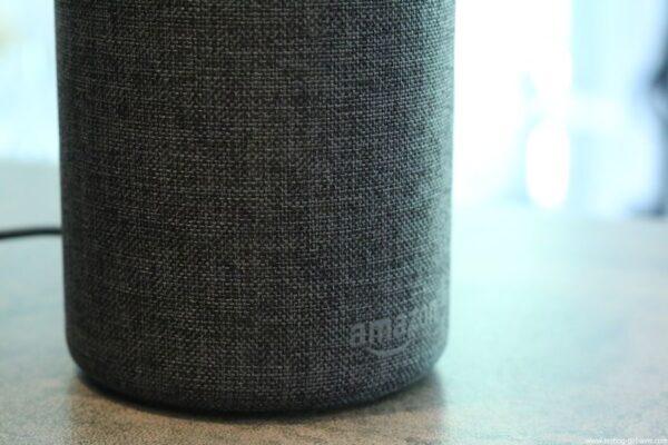 Amazon Echo Alexa - Enceinte connectée - Tissu anthracite