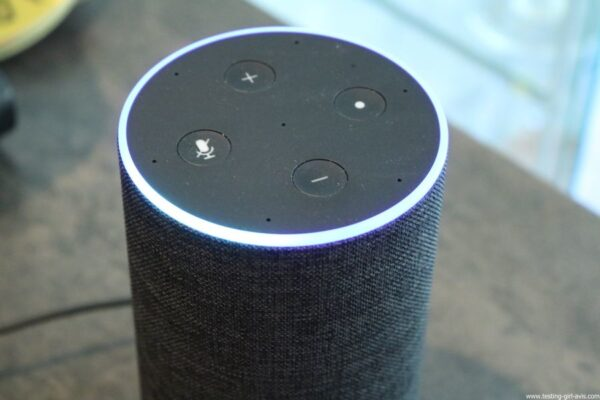 Amazon Echo Alexa - Enceinte connectée - Description