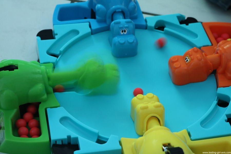 Hasbro Gaming Jeu Hippos Gloutons - le jeu
