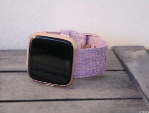 Montre cardio femme - Montre Connectée - Smartwhatch - Fitbit - Versa
