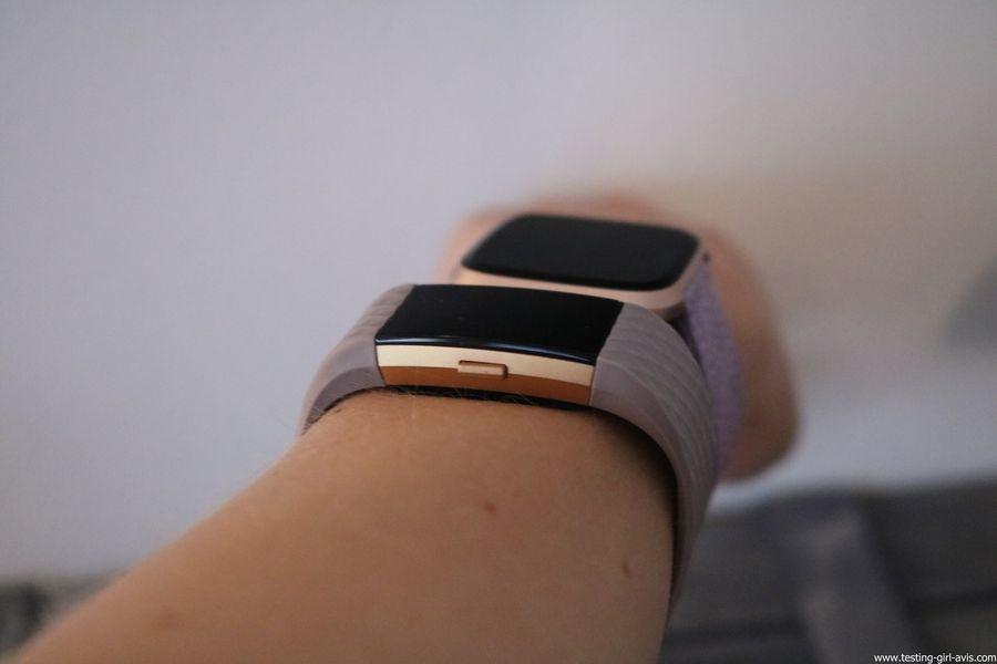  Montre cardio femme - Montre Connectée - Smartwhatch - Fitbit - Versa - Vs Charge 2