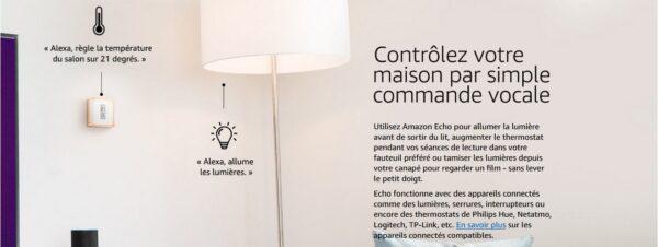 Amazon Echo Alexa - Maison Connectée