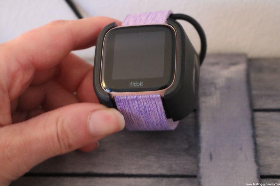 Montre cardio femme - Montre Connectée - Smartwhatch - Fitbit - Versa - Autonomie