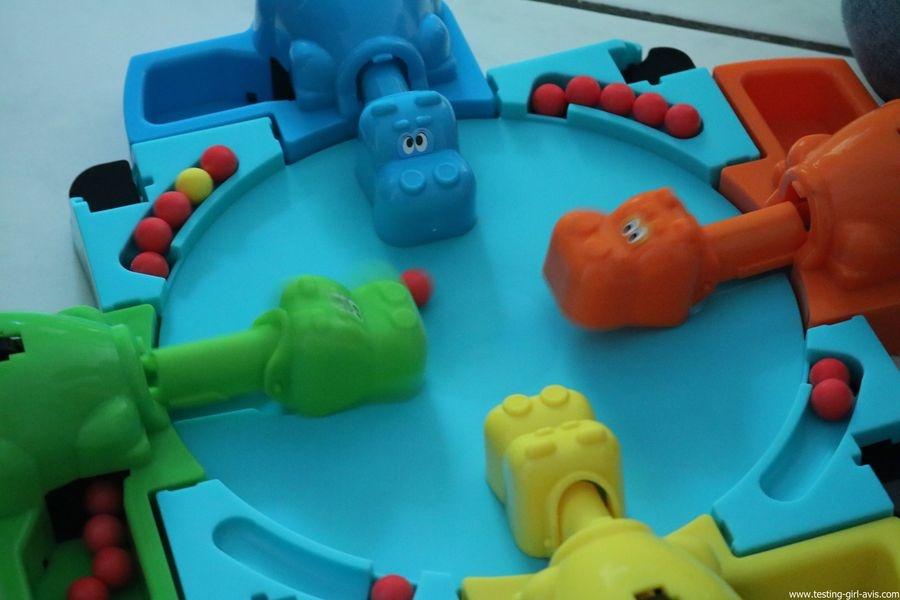 Hasbro Gaming Jeu Hippos Gloutons - Partie en cours