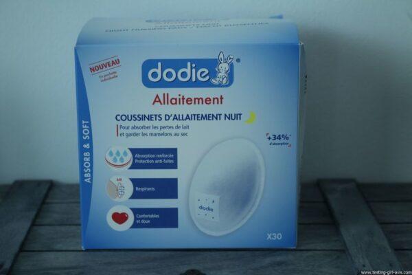 Coussinets d'allaitement jetables - Nuit - Dodie - Description