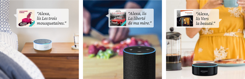 Audible sur Alexa Echo