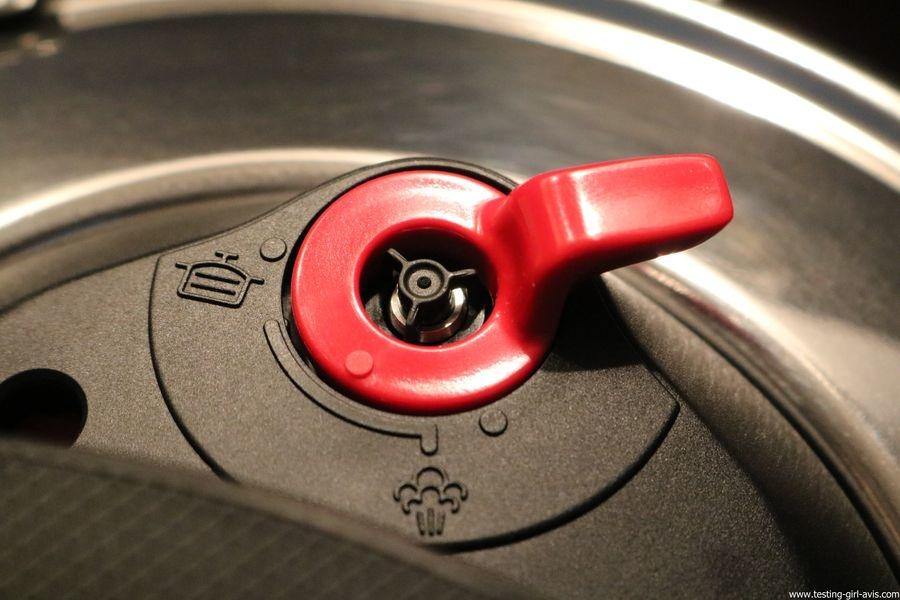 Autocuiseur SEB - Delicio - Inox - Contrôle du débit de vapeur