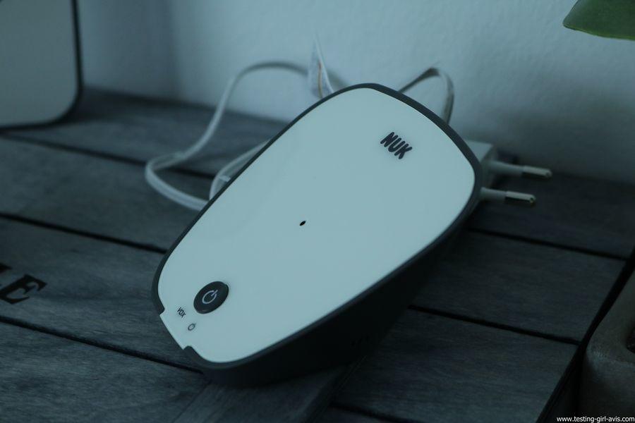 Babyphone Nuk - Eco Control Audio 500 - Unité bébé