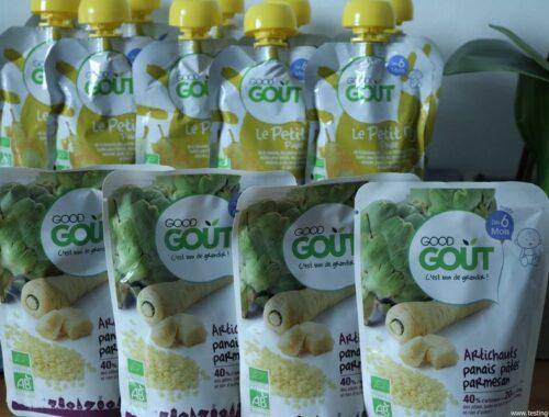 Good Goût - Bio - Bébé - Diversification alimentaire bébé