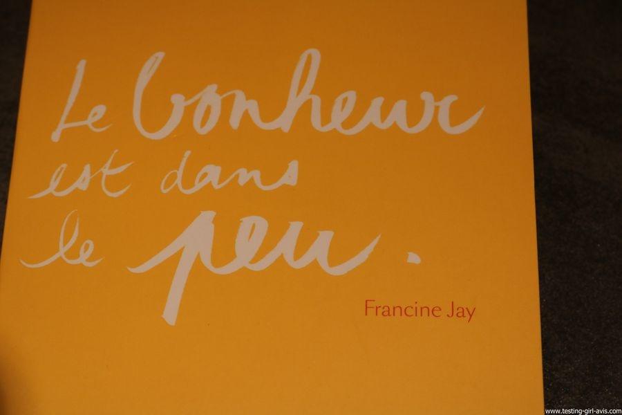 Le bonheur est dans le peu - Francine Jay - First - Resumé