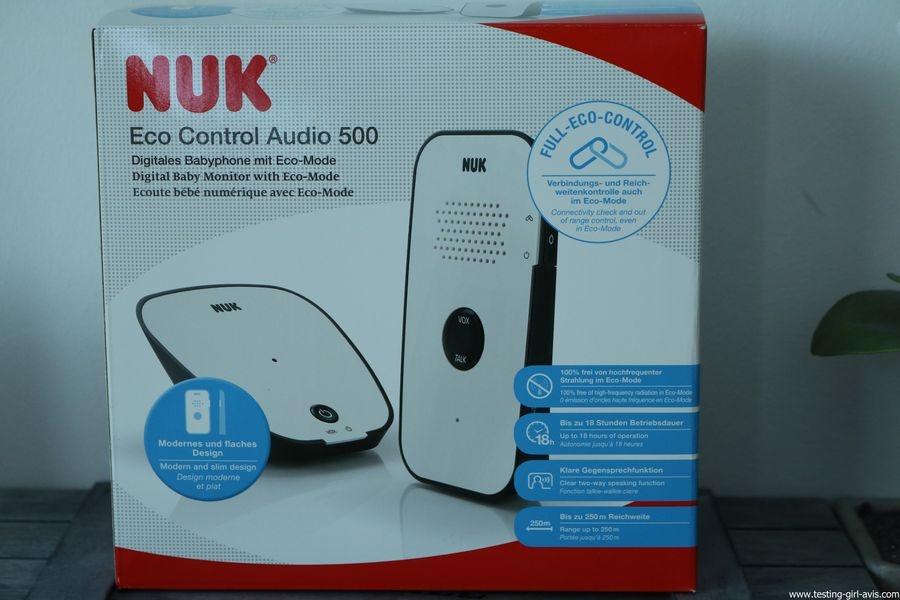 Babyphone Nuk - Eco Control Audio 500 - Description