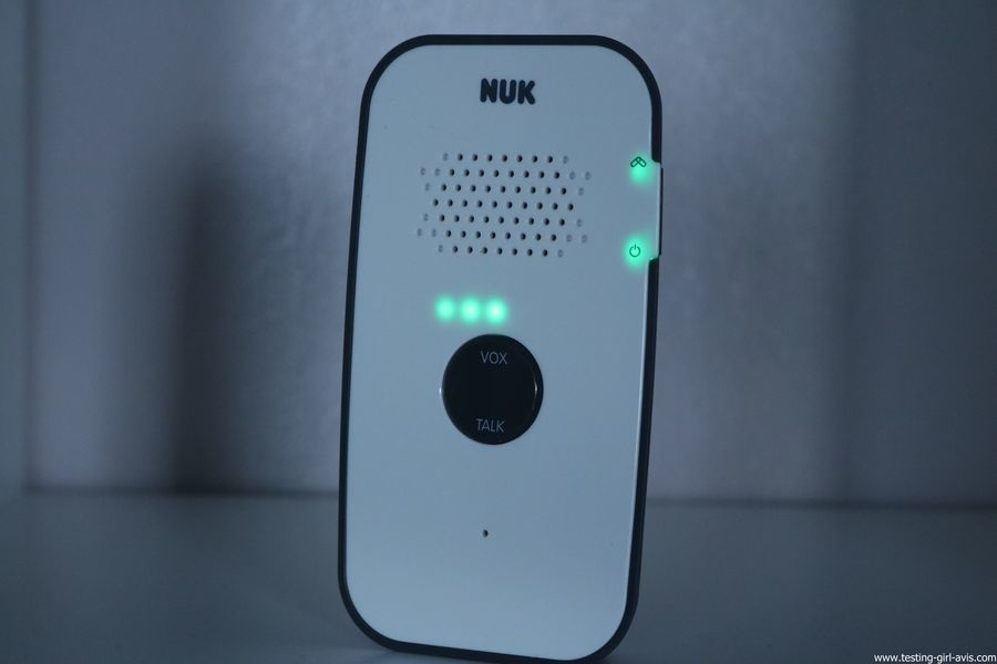 Babyphone Nuk - Eco Control Audio 500 - Avis