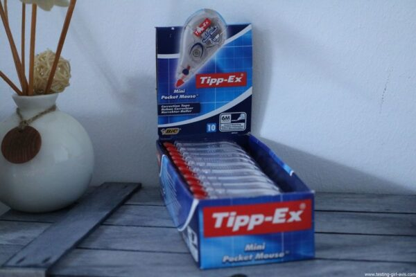 Tipp-Ex - Mini Pocket Mouse - Ruban correcteur - Description