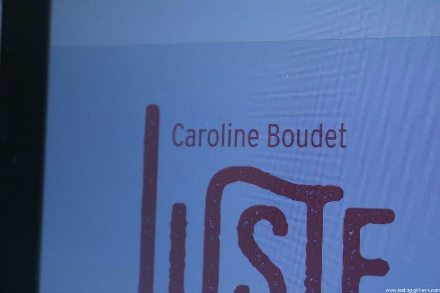 Juste un peu de temps - Caroline Bourdet - Auteur