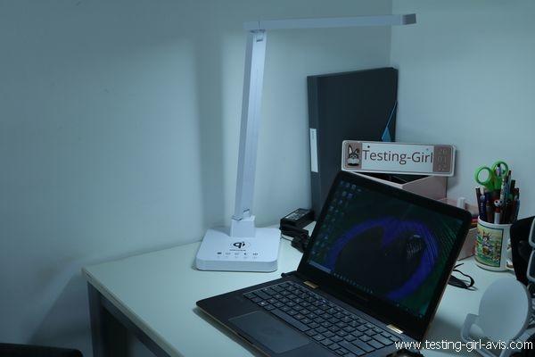 Lampe de bureau LED - MEIKEE - Prise USB
