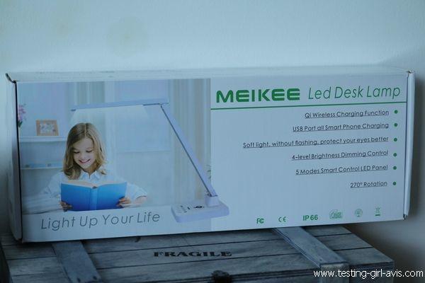 Lampe de bureau LED - MEIKEE - Description