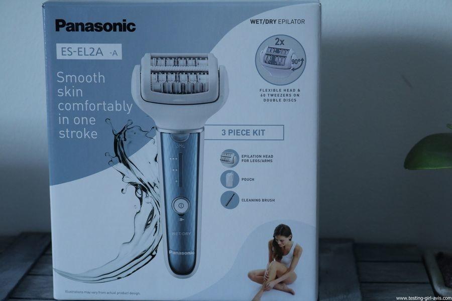 Epilateur Panasonic - ES-EL2A - Description