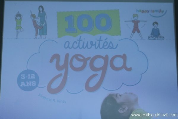 Livre - 100 activités yoga 3-12 ans