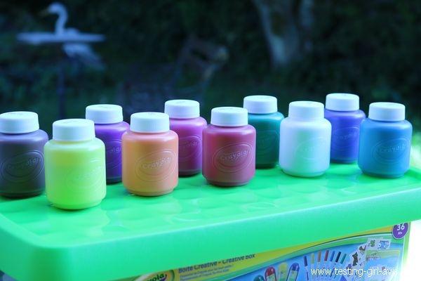 kit peinture lavable crayola - avis