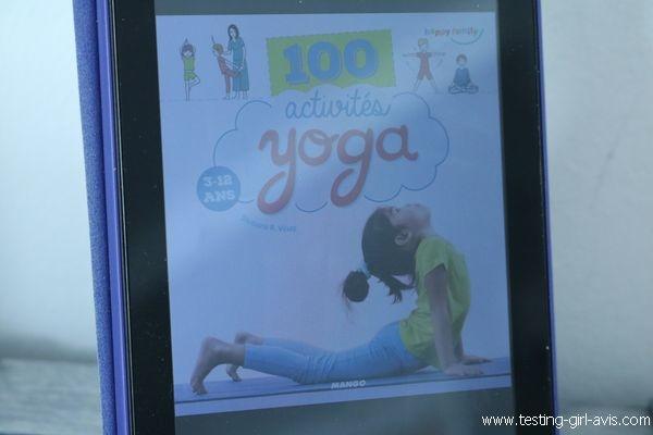 Comment faire du yoga avec les enfants - 100 activités yoga 3-12 ans - Avis sur le livre
