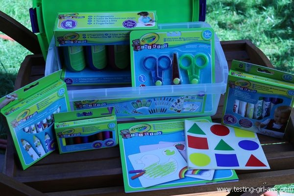 Boite creative mini kids Crayola