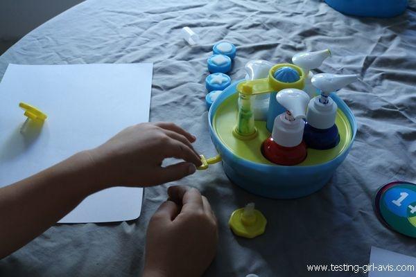 Apprendre le mélange des couleurs primaires - Atelier Mini Art Peinture - Buki - Mélange couleurs