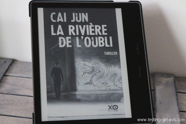La rivière de l'oubli - Cai Jun - Avis