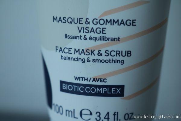 Masque & gommage Gallinée - Description