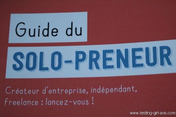Guide du solo-preneur- Description