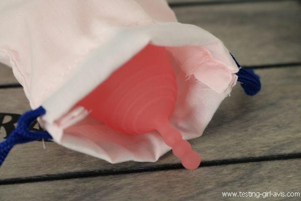 Coupe menstruelle Intima Avis