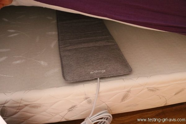 Withings Sleep Test - Le capteur qui analyse le sommeil pour mieux dormir - Avis