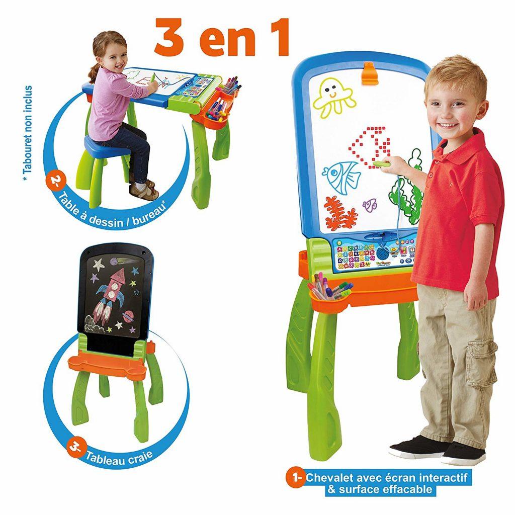 Idée cadeaux enfants - 4 ans - tableau - bureau