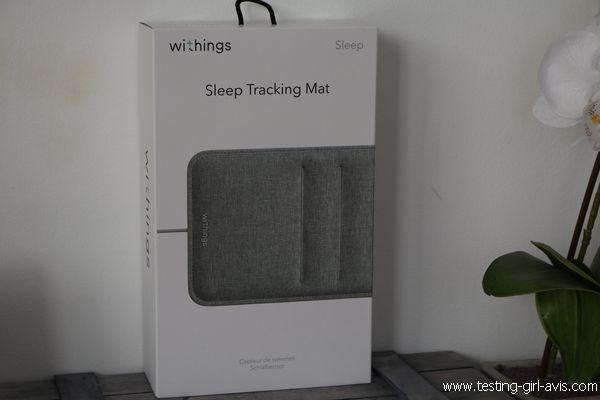 Withings Sleep Test - Le capteur qui analyse le sommeil pour mieux dormir