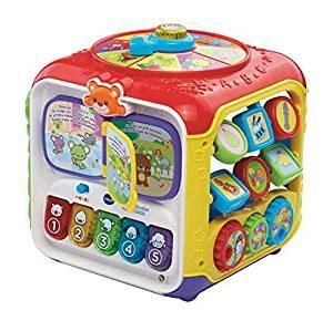 Idée cadeau Noël Bébé - 1 an - Cube activités