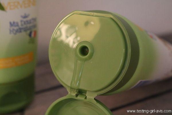 Monsavon Bio - Gel douche Citron touche de Verveine - Texture