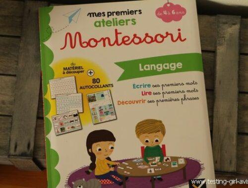 Mes premiers ateliers Montessori - Hatier