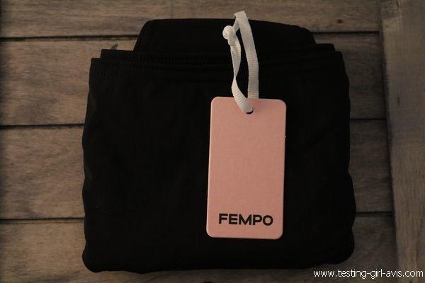 FEMPO avis culotte menstruelle