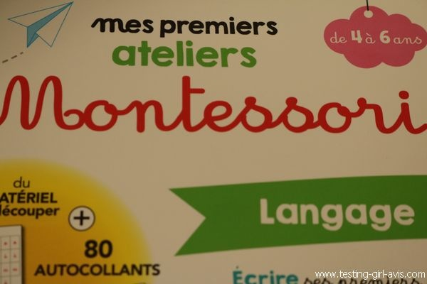 Mes premiers ateliers Montessori - Hatier - Description