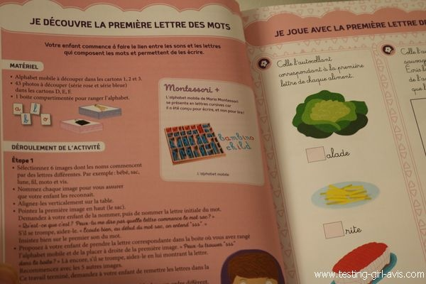Mes premiers ateliers Montessori - Lettres