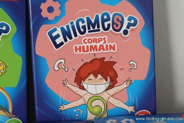 Bioviva Enigmes ? - Les petits jeux revisités à emmener partout - Corps Humain