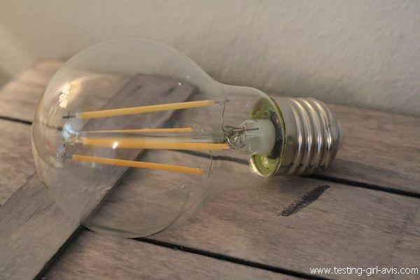 Ampoule LED E27 filament Edison AmazonBasics - Classique
