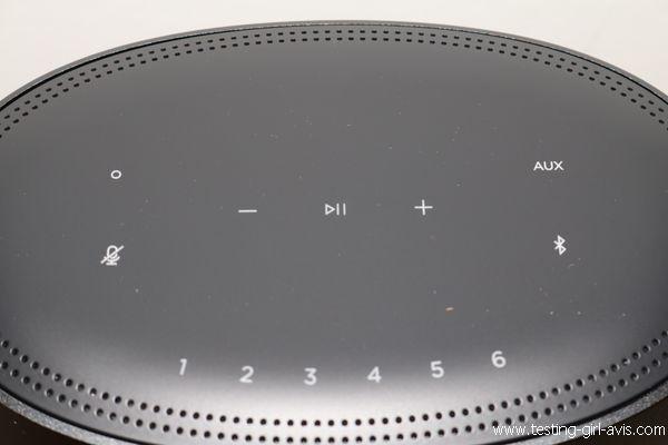 Enceinte intelligente Bose Home Speaker 500 - Fonctions sur l'enceinte