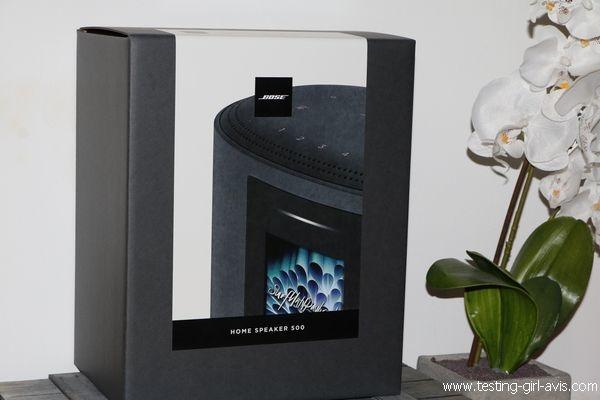 Enceinte bluetooth intelligente Bose Home Speaker 500 - Description