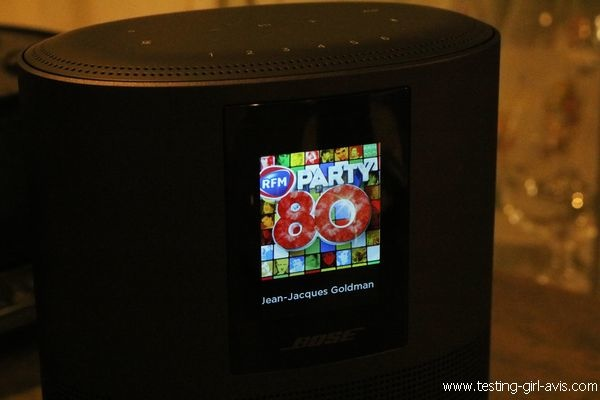 Enceinte intelligente Bose Home Speaker 500 - Ecran LCD Couleur
